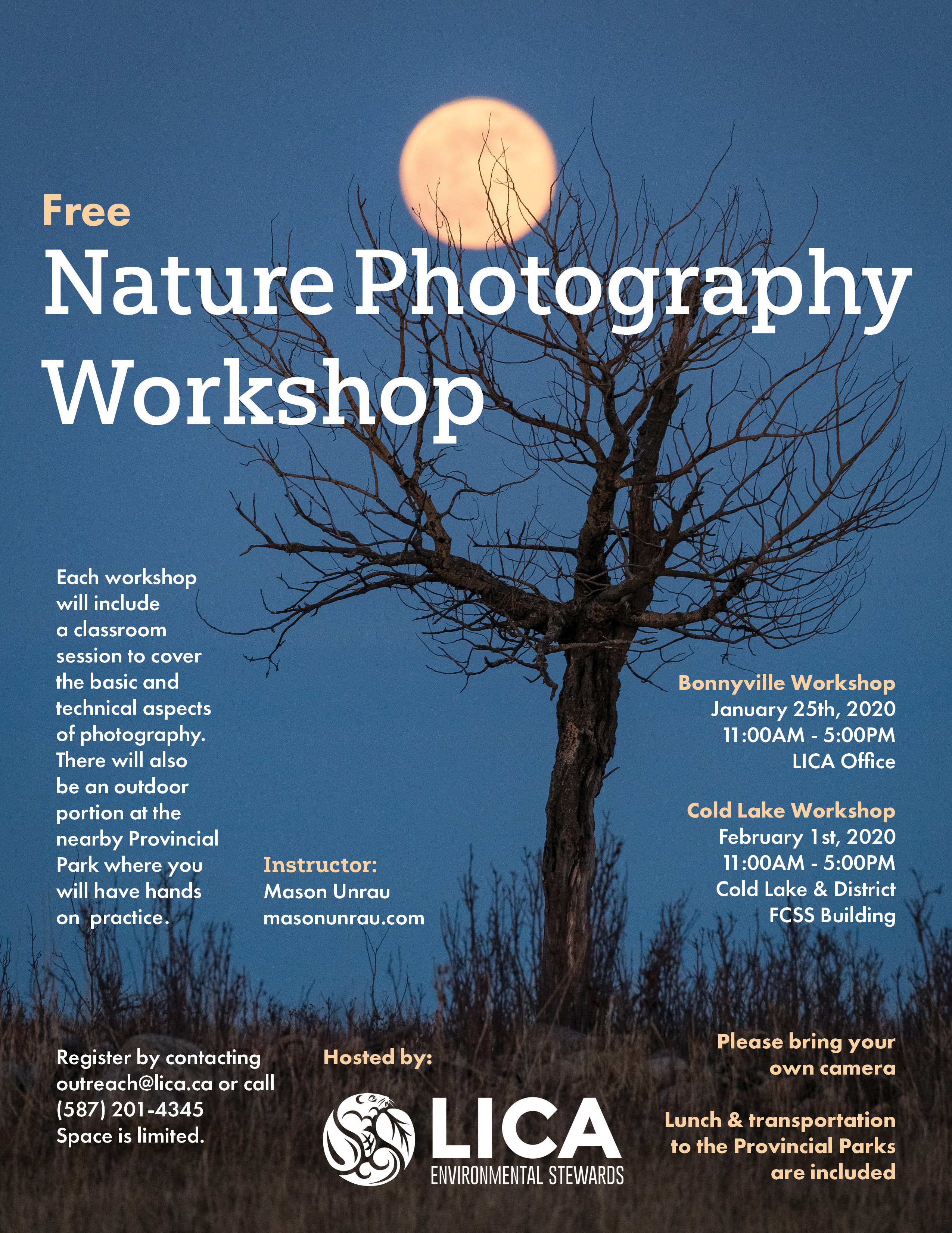 LICA Nature Photography Workshop @ LICA Office